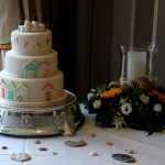 Seaside Themed Wedding Cake