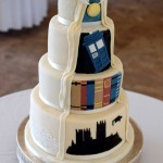 Dr Who, Harry Potter wedding cake
