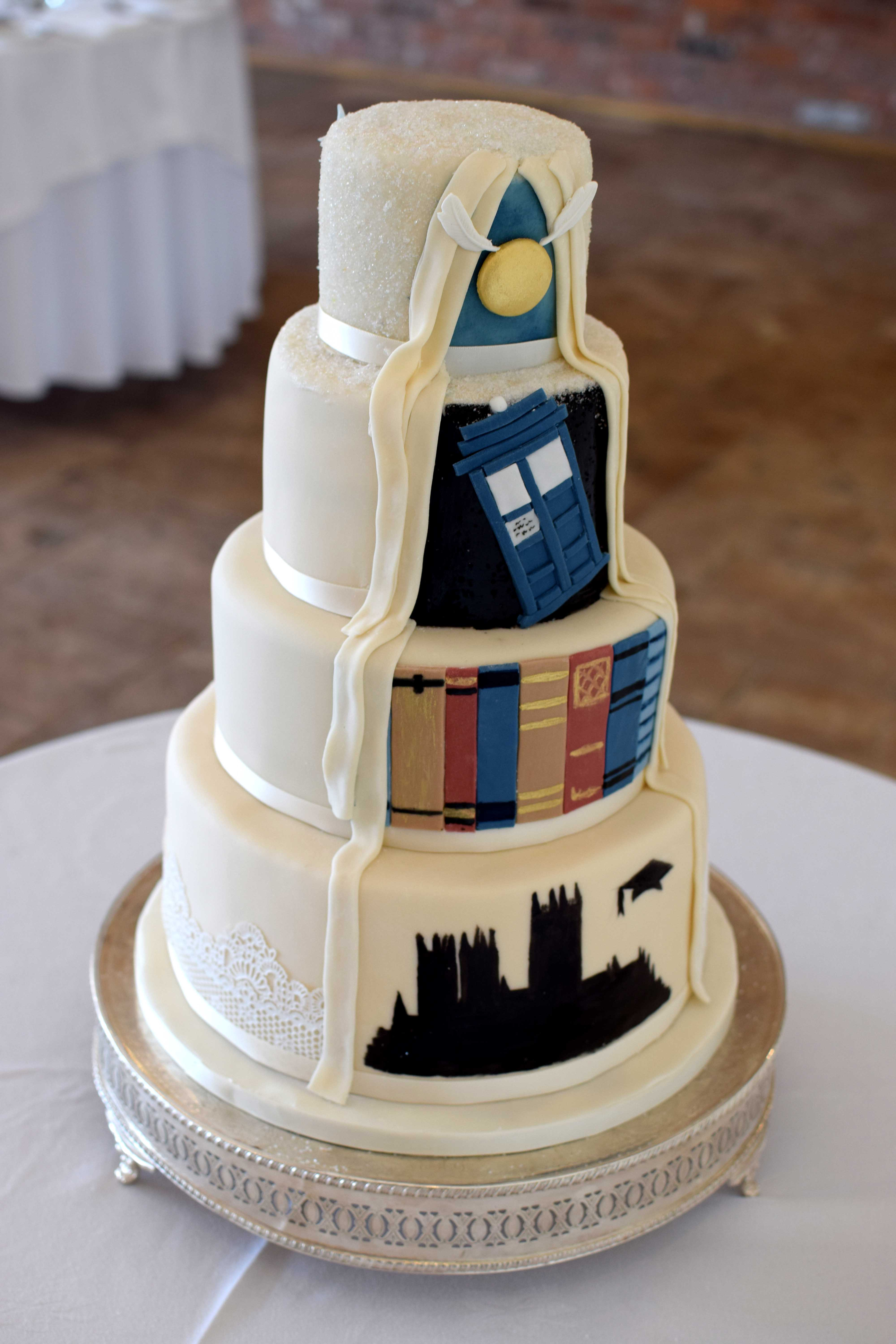 Two Faced Wedding Cakes